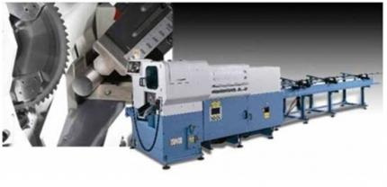 Máquinas para corte de barra sólida