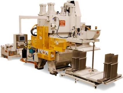 Prensa para la producción de aletas FP-1000