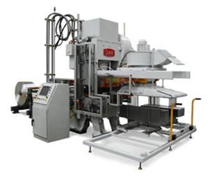 Prensa para la producción de aletas FP-400