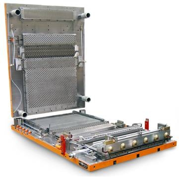 Troqueles para la producción de aletas estándar